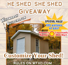 He Shed She Shed Giveaway