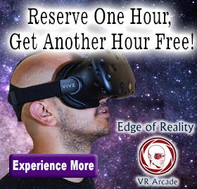 Reserve an Hour Get an Hour At Edge of Reality