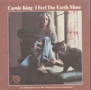 Carole King - I feel the Earth Move Album Cover