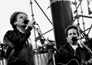"""Simon and Garfunkel"" by Eddie Mallin"