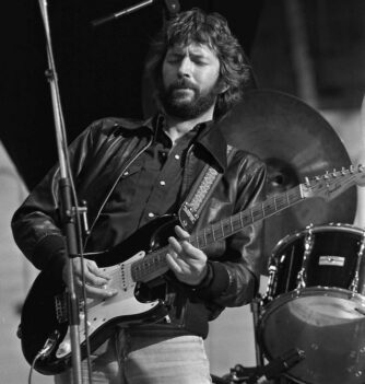 Eric Clapton - One of the guitar greats on GTO
