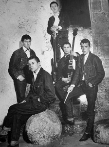 The Animals 1964. From left to right, Eric Burdon (vocals), Alan Price (keyboards), Chas Chandler (bass), Hilton Valentine (guitar), John Steel (drums)