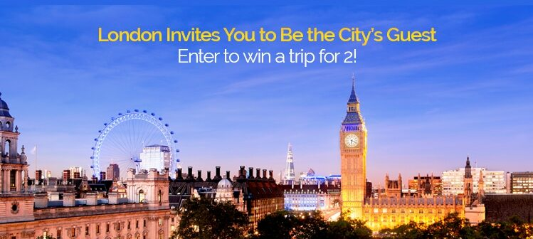 London Giveaway Banner Ad