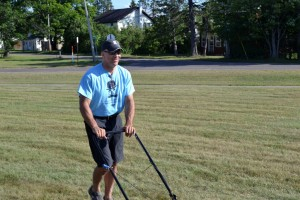 Gwinn Superintendent Tom Jayne Helps Landscape At Gilbert Elementary School