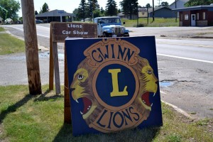 Lion's Club Car Show at Gwinn High School for Gwinn Fun Daze 2015