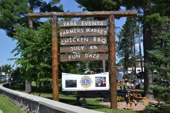 Gwinn Fun Daze 2015 with Great Lakes Radio