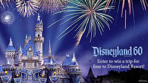 Enter to win the contest of the summer with Good Time Oldies - a trip to the Disneyland park and hotel!