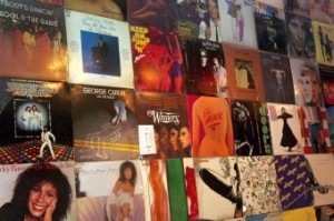 Greatest Hits Record Cover Wall