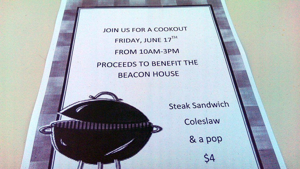 Super One Cook Out Flyer