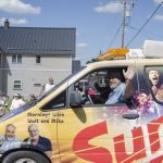 Walt and Mike in the Sunny.fm Van