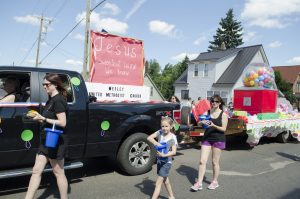 Wesley United Methodist Church Float