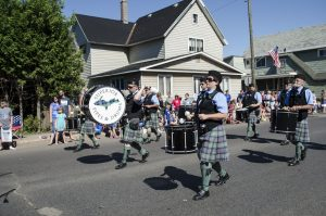 Superior Pipes and Drums Drumline