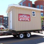 Win this Sauna from Premium Pole Buildings & Storage Sheds at our next giveaway