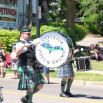 Superior Pipes and Drums put on a great preformance duringthe parade