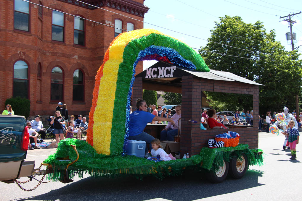 Hit Favorites School Days: Pioneer Days Parade Is A Big Hit In Negaunee!