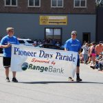 Beginning of the 2016 Pioneer Days Parade