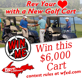 Register to win a golf cart