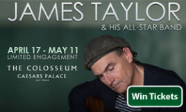 James-Taylor-and-his-all-star-band-las-vegas-concert-ticket-giveaway