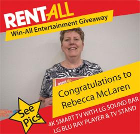 Rebecca McLaren wins the 55
