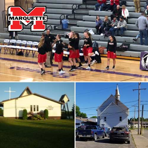 Listen to Marquette Redmen Sports, Faith Lutheran Services and Trinity Lutheran Services