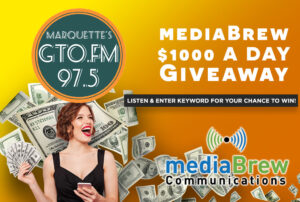 The mediaBrew $1000 A Day Giveaway