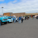 People could take a look at all the vehicles from 11a - 2p.