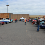 As usual the car show was in the Westwood Mall.