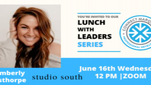 Meet Kimberly Aisthorpe at Lunch with Leaders