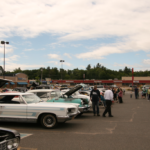The entire mall parking lot was packed with cars