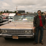 A proud owner of this Chrysler Imperial