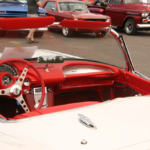 What a sweet cherry red interior!