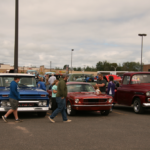 People came from far and wide to see some awesome cars