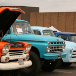 A beatuful display of classic trucks and cars at the Catch the Vision Car Show