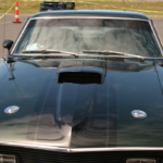Top-side picture of a car at the Char Show