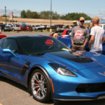 One of the newer cars at the Car Show