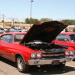 Under the hood of a 1970 Chevelle
