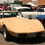 A Chevrolet Sports Car at the Car Show