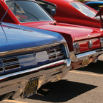Featuring the back bummers of a variety of cars from the Catch the Vision Car Show