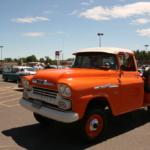 Bright orange Chevrolet