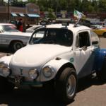 Classic EMPI driving around the Car Show