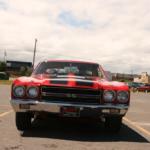 Front shot of a slick-looking car!