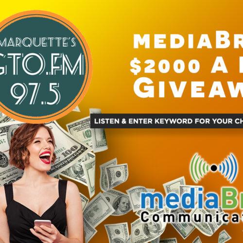 Enter to win mediaBrew